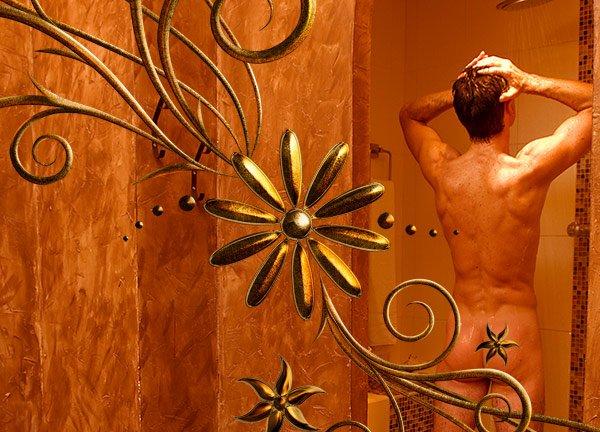 Douche avant le massage