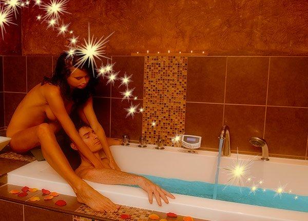 Massage et bain naturiste