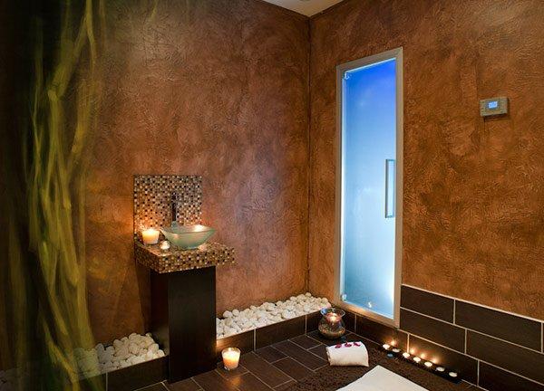 Cabine de massage naturiste